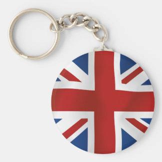 Flag of The United Kingdom Keychains