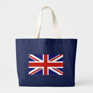Flag of the United Kingdom Large Tote Bag