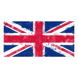 Flag of the United Kingdom or the Union Jack Photo Greeting Card