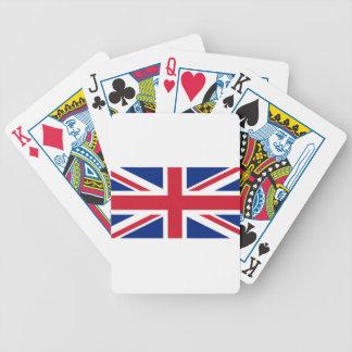 Flag of the United Kingdom (UK) aka Union Jack Bicycle Playing Cards