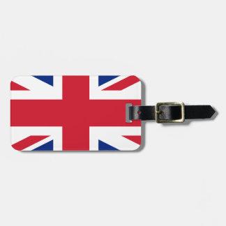 Flag of the United Kingdom (UK) aka Union Jack Luggage Tag