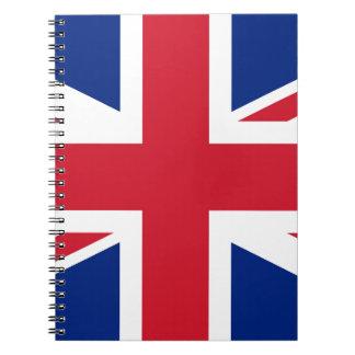 Flag of the United Kingdom (UK) aka Union Jack Notebook