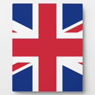 Flag of the United Kingdom (UK) aka Union Jack Photo Plaques