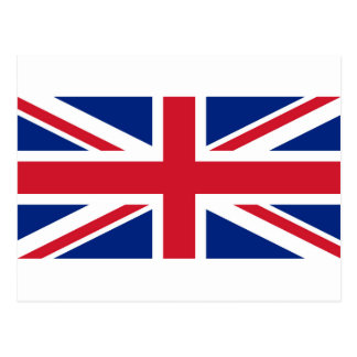 Flag of the United Kingdom (UK) aka Union Jack Postcard