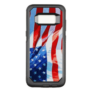 Flag of the United States Abstract Impressionism OtterBox Commuter Samsung Galaxy S8 Case