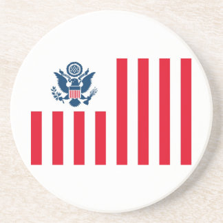 Flag of the United States Customs Service Coasters