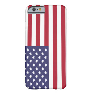 Flag of the United States iPhone 6 case Barely There iPhone 6 Case