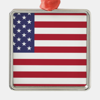 Flag of the United States Metal Ornament