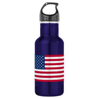 Flag of the United States of America 532 Ml Water Bottle