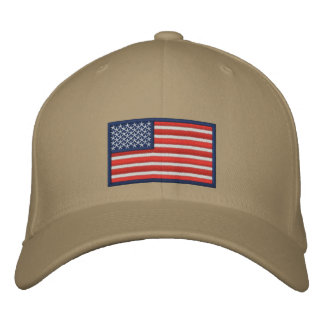 Flag of the United States of America Embroidered Hat