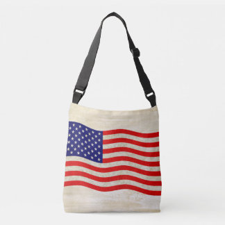 Flag of the United States of America - grungy Tote Bag
