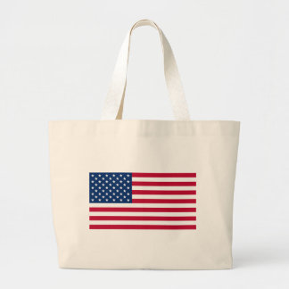 Flag of the United States of America Jumbo Tote Bag