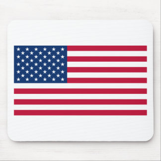 Flag of the United States of America Mouse Pads