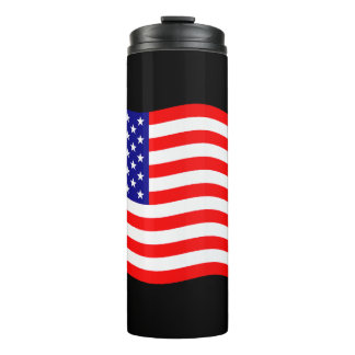 Flag of the United States of America - your ideas Thermal Tumbler