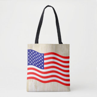 Flag of the United States of America - your ideas Tote Bag