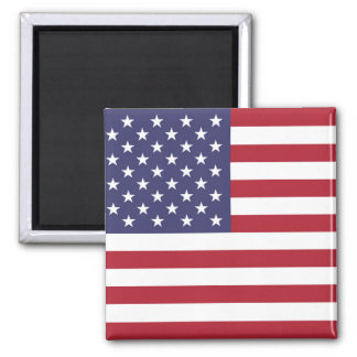 Flag of the United States Square Magnet