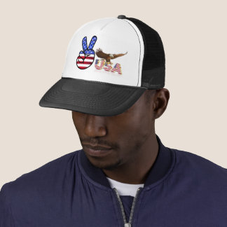 Flag of the United States Trucker Hat