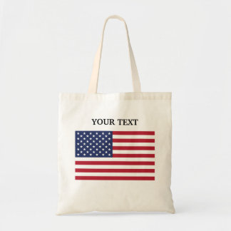 Flag of the USA Canvas Bags
