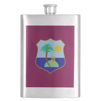 Flag of The West Indies Cricket Hip Flask