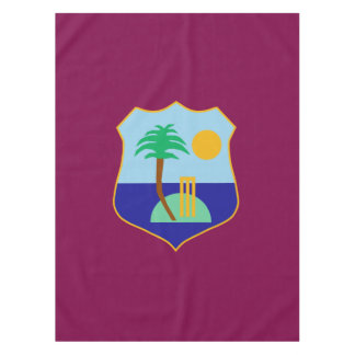 Flag of The West Indies Cricket Tablecloth