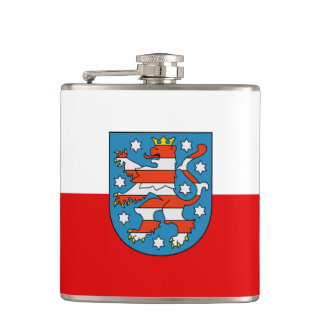 Flag of Thuringia Hip Flask