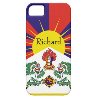 Flag of Tibet  or Snow Lion Flag Barely There iPhone 5 Case