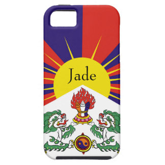 Flag of Tibet  or Snow Lion Flag Case For The iPhone 5