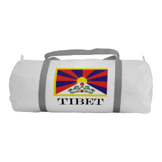 Flag of Tibet  or Snow Lion Flag Gym Bag