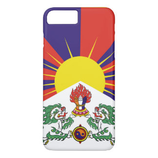 Flag of Tibet  or Snow Lion Flag iPhone 8 Plus/7 Plus Case