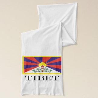 Flag of Tibet  or Snow Lion Flag Scarf
