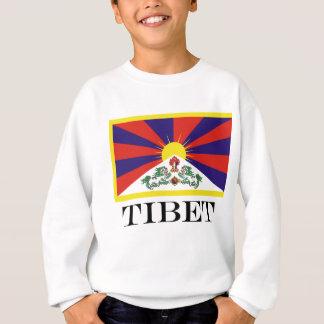 Flag of Tibet  or Snow Lion Flag Sweatshirt