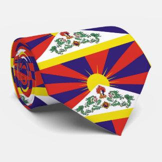 Flag of Tibet  or Snow Lion Flag Tie