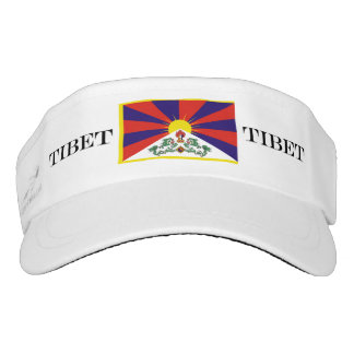 Flag of Tibet  or Snow Lion Flag Visor