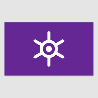 Flag of Tokyo prefecture, Japan Rectangular Sticker