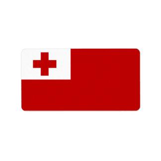 Flag of Tonga Labels