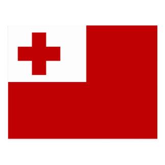 Flag of Tonga Postcard