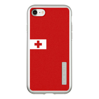 Flag of Tonga Silver iPhone Case