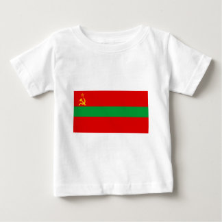 Flag_of_Transnistria_(state) Baby T-Shirt