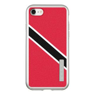 Flag of Trinidad and Tobago Silver iPhone Case