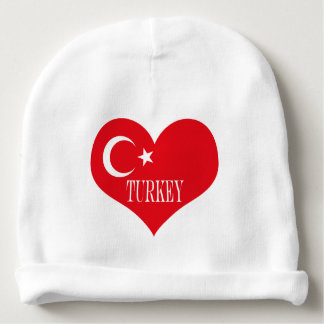 Flag of Turkey Baby Beanie