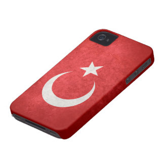 Flag of Turkey iPhone 4 Case-Mate Case