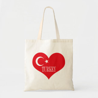Flag of Turkey Tote Bag