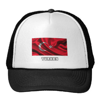 Flag of Turkey, Turkish Flag Mesh Hats