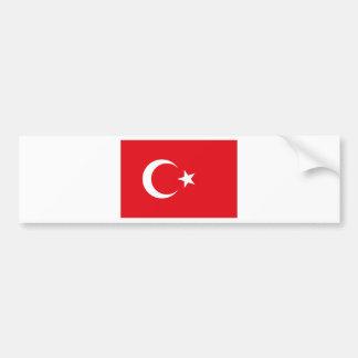 Flag of Turkey - Turkish flag - Türk bayrağı Bumper Sticker