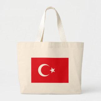 Flag of Turkey - Turkish flag - Türk bayrağı Large Tote Bag