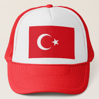 Flag of Turkey - Turkish flag - Türk bayrağı Trucker Hat