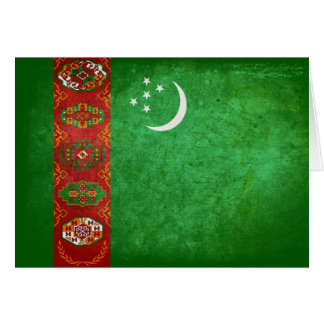Flag of Turkmenistan Note Card