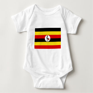 Flag of Uganda Baby Bodysuit