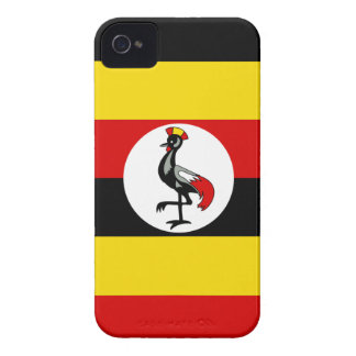 Flag of Uganda iPhone 4 Cases