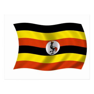 Flag of Uganda Postcard